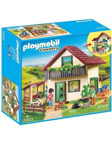 PLAYMOBIL CASA CON ALLEVAMENTO BIO