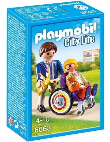 PLAYMOBIL CITY LIFE PAZIENTE CON...