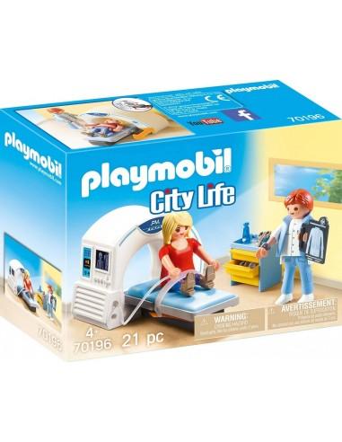PLAYMOBIL CITY LIFE RADIOLOGO