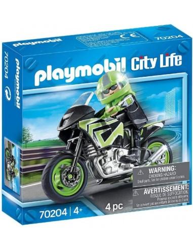 PLAYMOBIL CITY LIFE MOTOCICLISTA