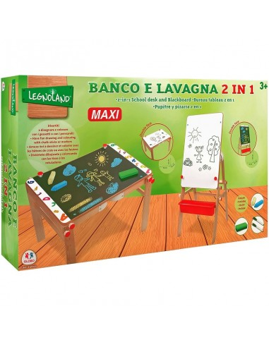 GLOBO LAVAGNA E BANCO 2 IN 1 70X52X52