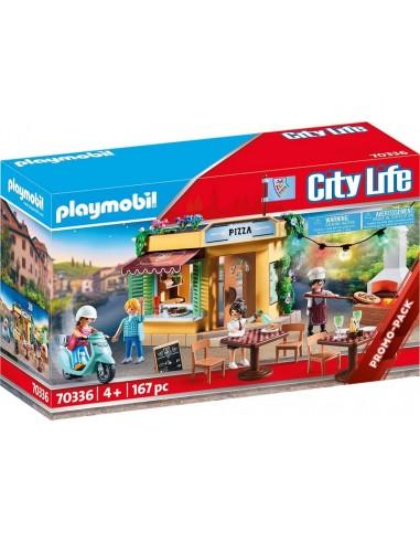 PLAYMOBIL CITY LIFE PIZZERIA CON...