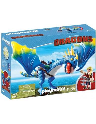 PLAYMOBIL DRAGONS ASTRID E TEMPESTOSA