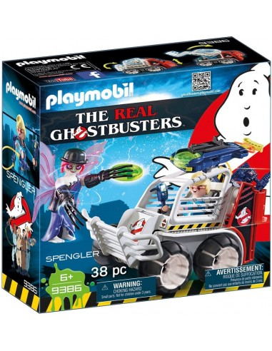 PLAYMOBIL GHOSTBUSTERS SPENGLER+AUTO...