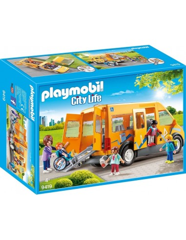 PLAYMOBIL CITY LIFE SCUOLABUS