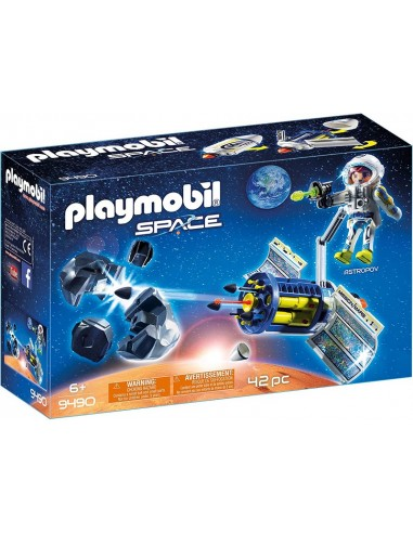 PLAYMOBIL SPACE SATELLITE DISTRUGGI...