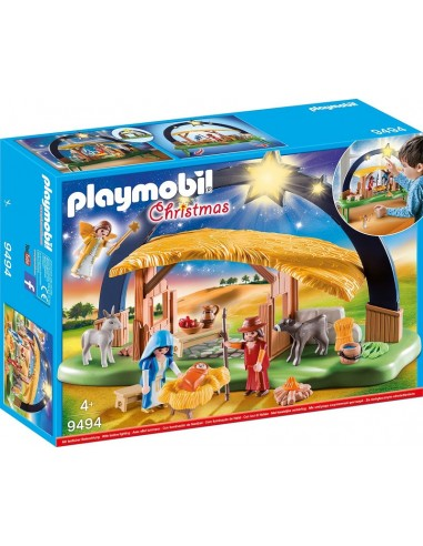 PLAYMOBIL CHRISTMAS PRESEPE ILLUMINATO