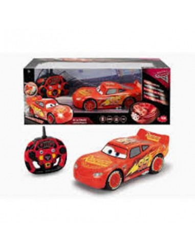 SIMBA R/C CARS 3 SAETTA MC QUEEN FUMO...