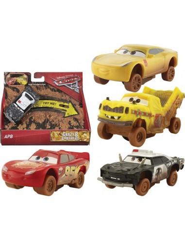 CARS VEICOLI CRAZY 8 CRASHERS 1/55