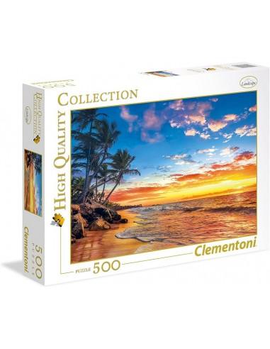 PUZZLE 500 CLEMENTONI PARADISE BEACH