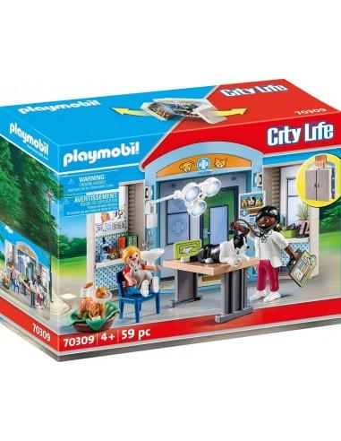 PLAYMOBIL CITY LIFE CLINICA VETERINAIA