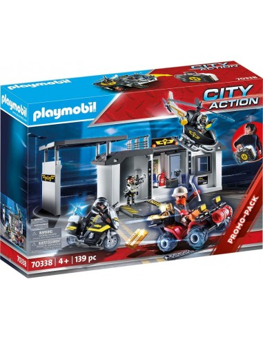 PLAYMOBIL CITY ACTION CENTRALE DELL'...