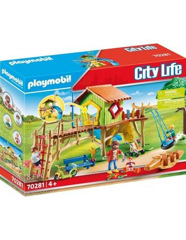 PLAYMOBIL CITY LIFE PARCO GIOCHI...