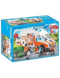 PLAYMOBIL AMBULANZA CON...
