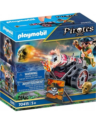 PLAYMOBIL PIRATES PIRATA CON CANNONE