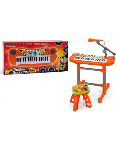 GLOBO PIANOLA 37 TASTI CON MICROFONO...
