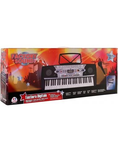 GLOBO PIANOLA 54 TASTI CON GAMBE E...