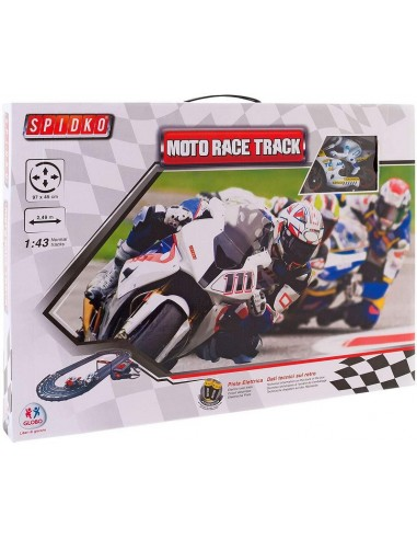 GLOBO PISTA MOTO RACE TRACK 1/43 2,49 MT