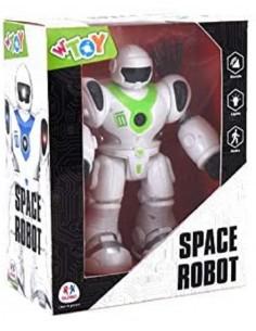 GLOBO ROBOT CAMMINANTE LUCI...