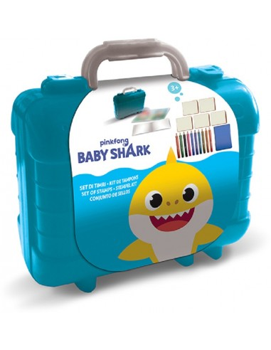 MULTIPRINT BABY SHARK SET TIMBRI...
