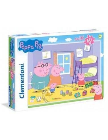 PUZZLE 60 CLEMENTONI MAX PEPPA PIG