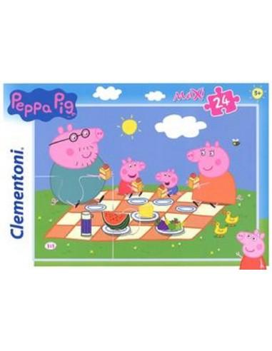 PUZZLE 24 CLEMENTONI MAX PEPPA PIG