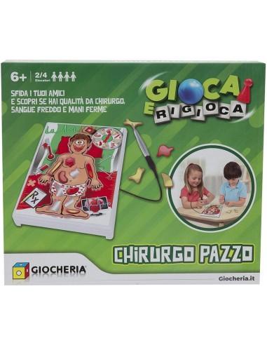 GIOCHERIA GIOCO CHRURGO PAZZO