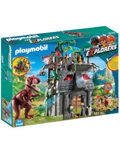 PLAYMOBIL DINOS CAMPO BASE...