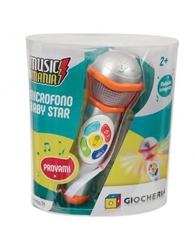 GIOCHERIA MUSIC MANIA MICROFONO A UNA...