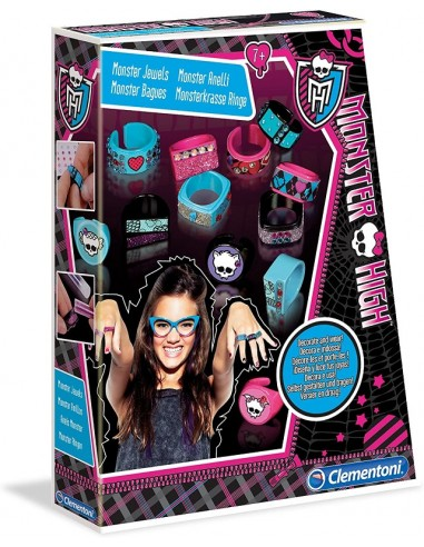 CLEMENTONI CREAIDEA MONSTER HIGH ANELLI