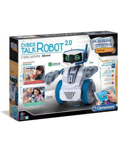 CLEMENTONI SCIENZA CYBER TALK ROBOT 2.0