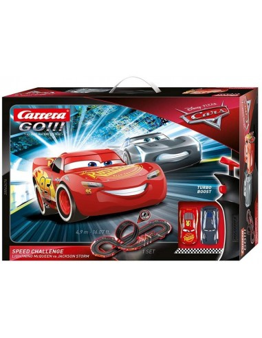 CARRERA PISTA GO CARS SPEED CHALLENGE